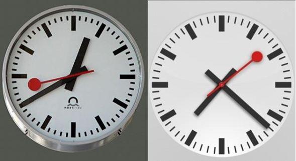 Apple copio el diseño del nuevo reloj del iPad, afirma un diario Suizo