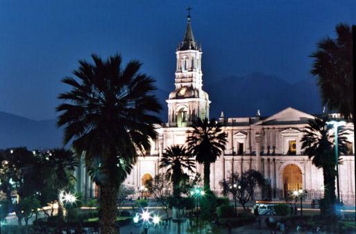 turismo antigua ciudad de Arequipa peru