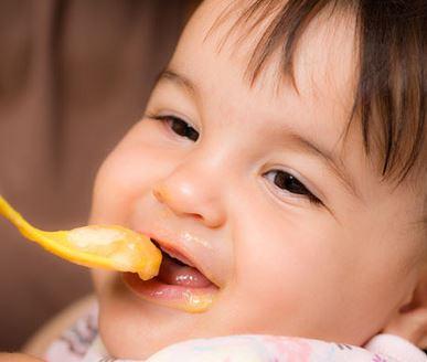 comidas recomendable bebes