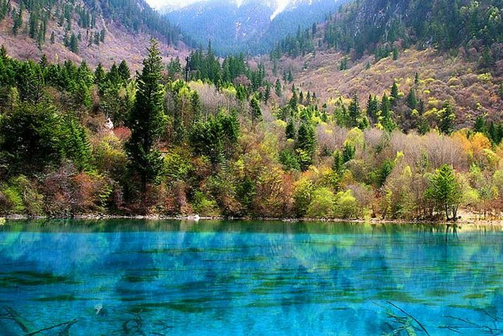 Jiuzhaigou Valley ha sido descrito como un cuento de hadas