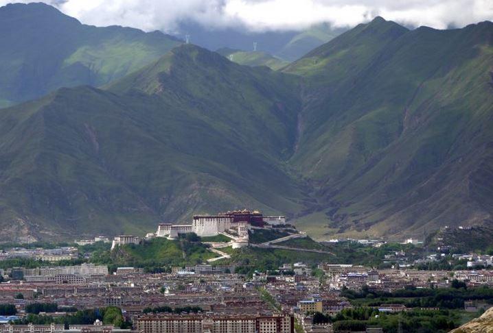 Lhasa una de las ciudades más importantes en el Tíbet
