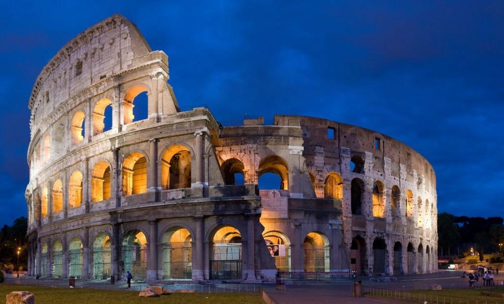 Coliseo Romano, Italia - Anfiteatro Flavio