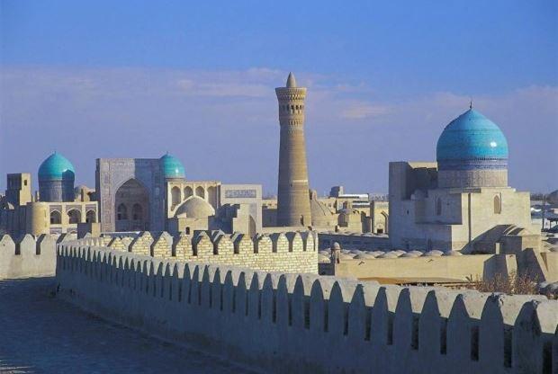 antigua ciudad de Bukhara