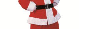 Hacer un disfraz económico de Papá Noel